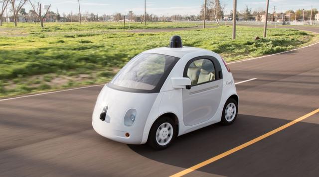 samochod google maps zdjecia samojezdzacy