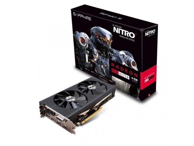 Test Sapphire Nitro Radeon RX 470 4GB