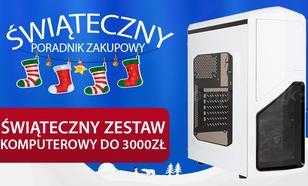 Świąteczny Zestaw Komputerowy do 3000 zł