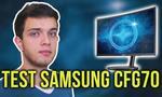 144HZ Quantum Dot - Piękny Monitor Samsunga CFG70