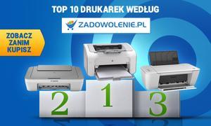 TOP 10 Drukarek według Zadowolenie.pl - Zobacz Zanim Kupisz!