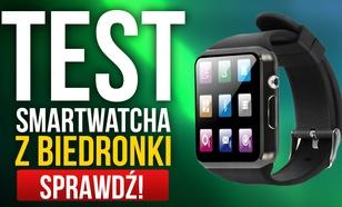 Test Smartwatcha z Biedronki Hykker Chrono 2