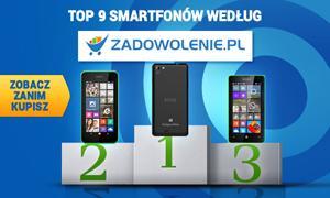 TOP 9 Smartfonów według Zadowolenie.pl - Zobacz Zanim Kupisz!