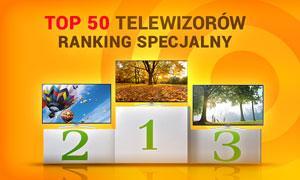 TOP 50 Telewizorów - Ranking Specjalny Grudzień 2014