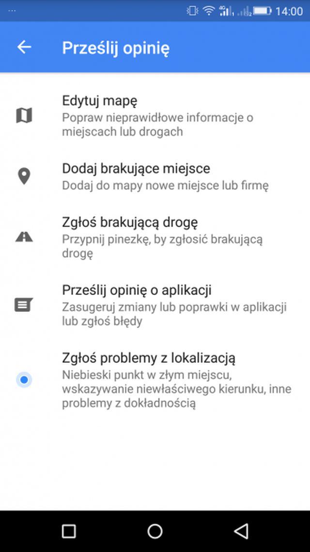 Edycja Dróg Google Maps