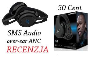 Sms Audio Street over-ear ANC - dobre słuchawki za niemałe pieniądze!