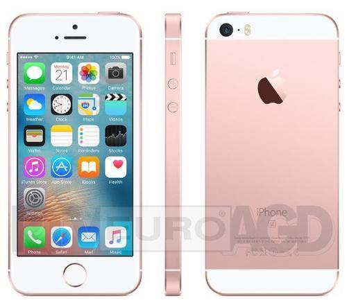 Apple iPhone SE 16GB (różowy złoty)