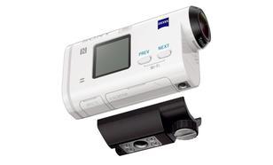 Z Sony HDR-AS200V/R Action Cam Zmierzysz Się Z Żywiołem