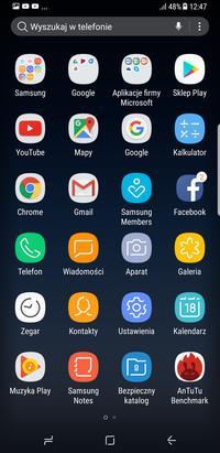Ekran Galaxy S8/S8+
