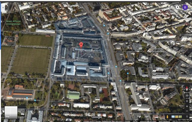 warsaw warszawa hidden place ukryte miejsce google maps mapy teorie spiskowe