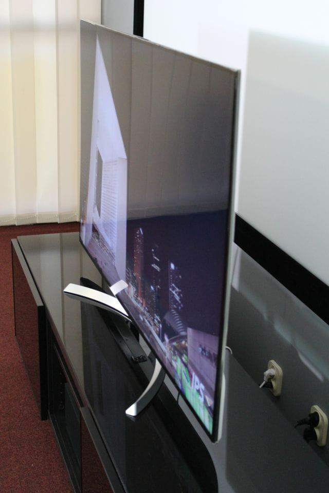 świetne kąty widzenia w telewizorze LG