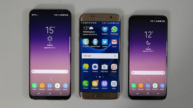 porównanie Samsung Galaxy s7 i s8