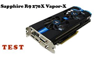 Sapphire R9 270X Vapor-X test karty graficznej