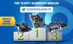 TOP 10 Płyt Głównych według Zadowolenie.pl - Zobacz Zanim Kupisz!