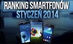 Telefony komórkowe - najpopularniejsze modele ze stycznia 2014