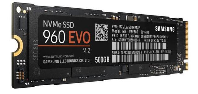 Dysk SSD Samsung 960 Evo 500 GB M.2