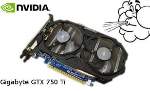 Gigabyte GTX750Ti - grafika do gier poniżej 600zł