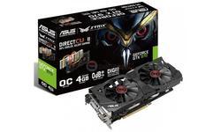 Asus GeForce CUDA GTX970OC STRIX 4GB DDR5