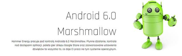 Android 6.0 - MYPHONE HAMMER ENERGY