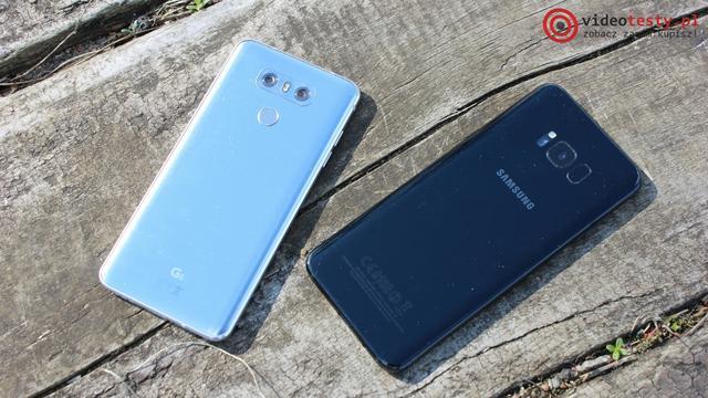 LG G6 vs Galaxy S8 Plus