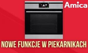 Funkcje w Nowoczesnych Piekarnikach - Amica INTEGRA SMART