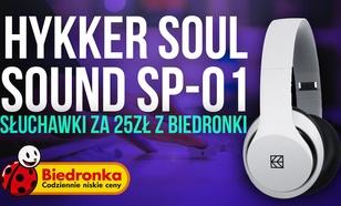 Hykker Soul Sound SP-01 - Słuchawki za 25zł z Biedronki
