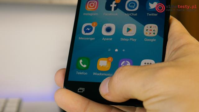 Czytnik linii papilarnych Samsung Galaxy A5 (2017)