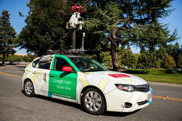 Google Street View Car