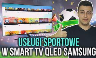 Usługi Sportowe w Smart TV QLED Samsung Zaprezentowane na CES 2017