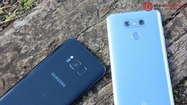 LG G6 vs Samsung Galaxy S8 Plus