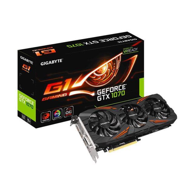 Karta graficzna Gigabyte GeForce GTX 1070