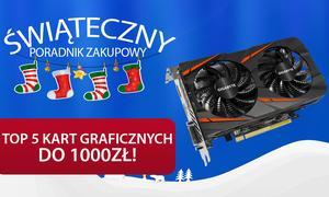 TOP 5 Kart Graficznych do 1000 zł!