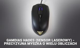Gamdias Hades (sensor laserowy) - Precyzyjna Myszka O Wielu Obliczach