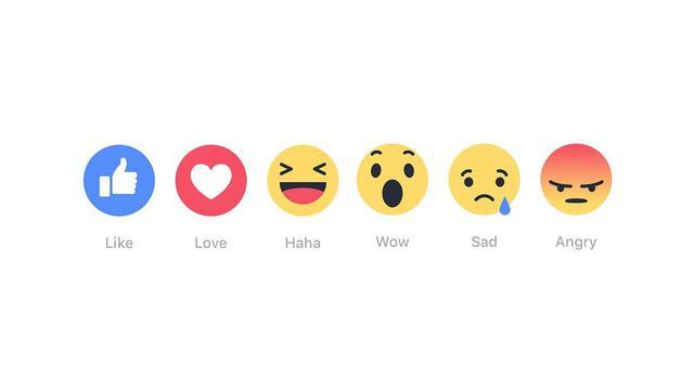 Reakcje Na Facebooku