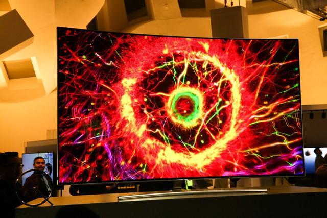 gorący samsung qled tv