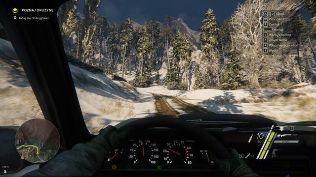Sniper: Ghost Warrior 3 - Podróż Samochodem