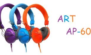 ART AP-60 - Doskonałej jakości słuchawki multimedialne na twoją kieszeń!