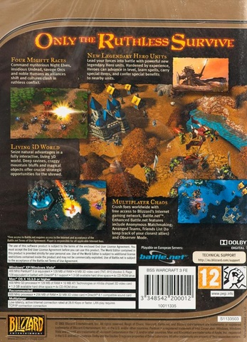 Gier PCGra PC Warcraft III: Reign of Chaos
