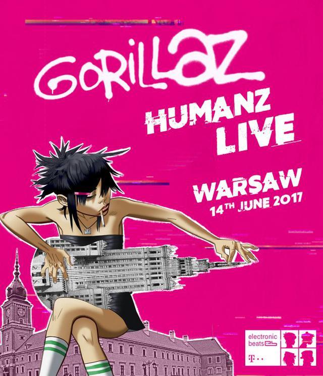 Plakat Gorilaz