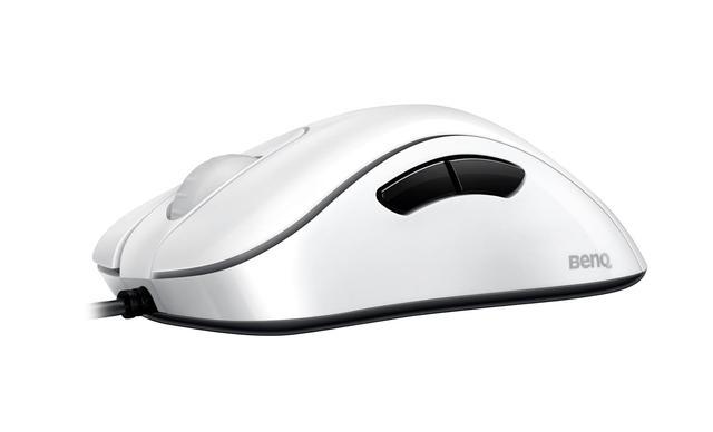 biała myszka gamingowa