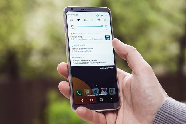 Powiadomienia w LG G6