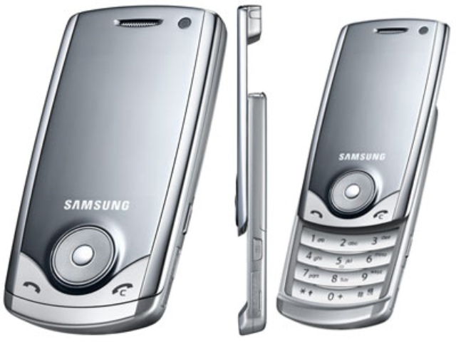 Telefonów komórkowychSamsung U700