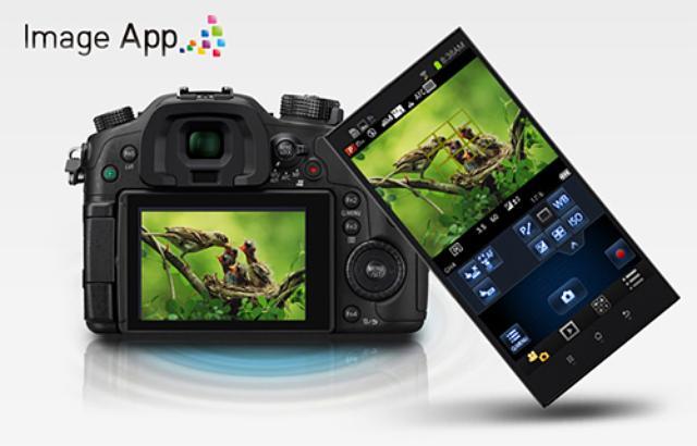Panasonic Lumix GH4 imageapp