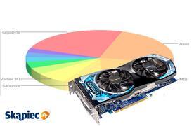 Ranking kart graficznych - styczeń 2012