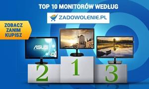TOP 10 Monitorów według Zadowolenie.pl - Zobacz Zanim Kupisz!