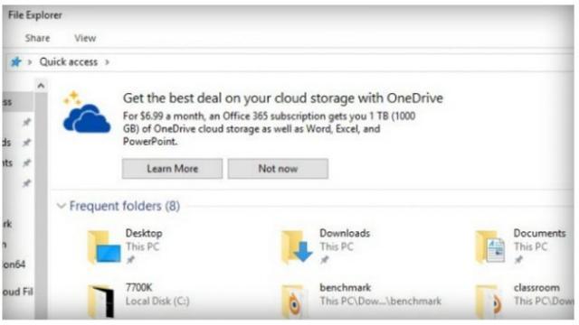 Reklama Windows10