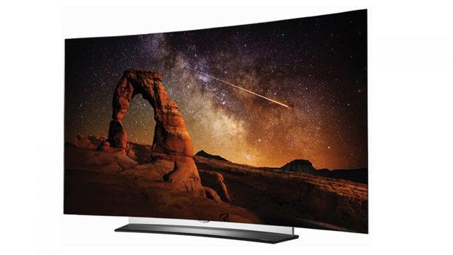 Najwyższej klasy telewizor z zakrzywionym ekranem