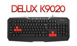 Recenzja Delux K9020 - Tania Klawiatura Dla Graczy