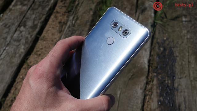 Test LG G6 - czytnik linii papilarnych