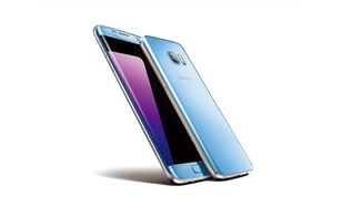 Samsung Galaxy S7 Edge Blue Coral